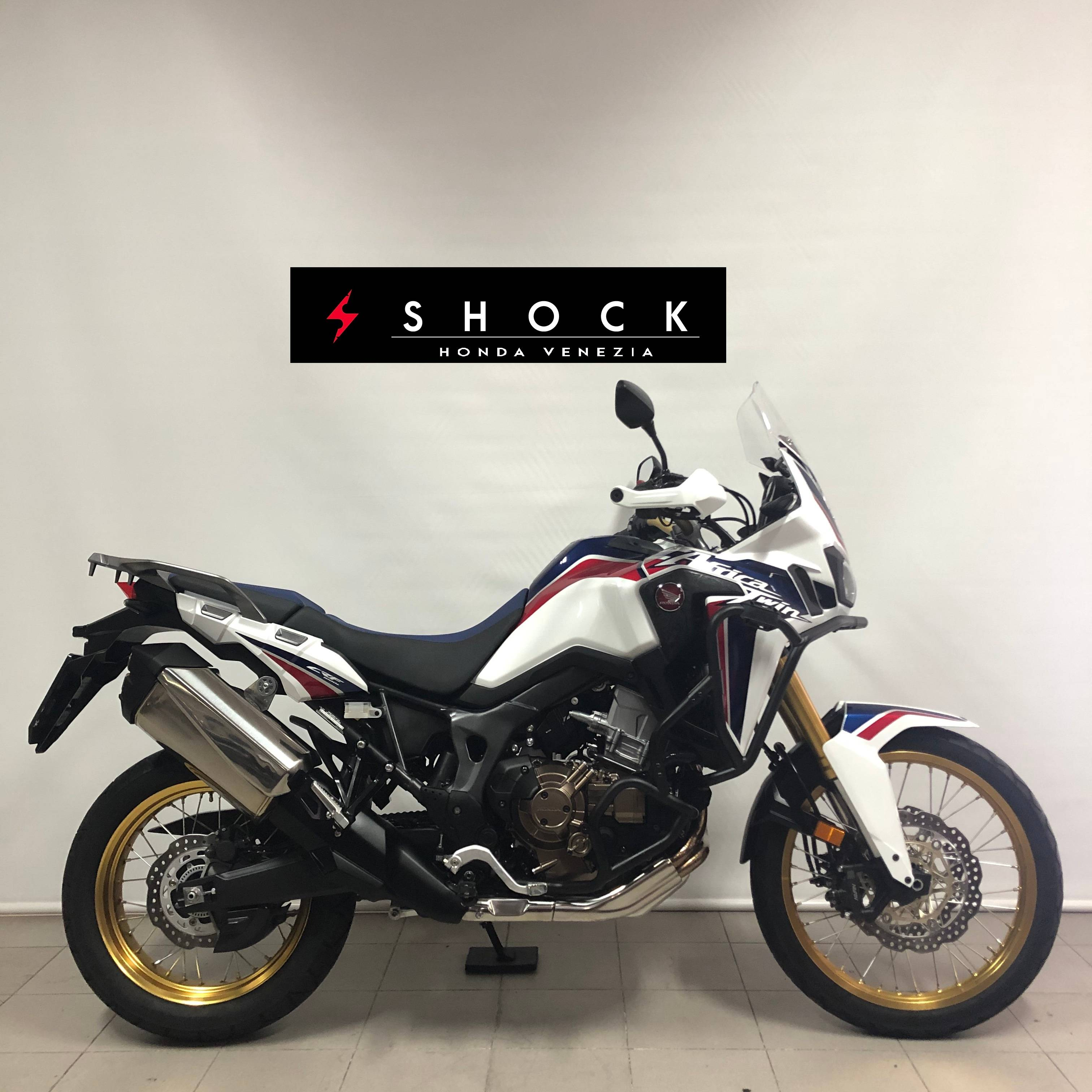 HONDA AFRICA TWIN 1000 DCT TRICOLOR HRC